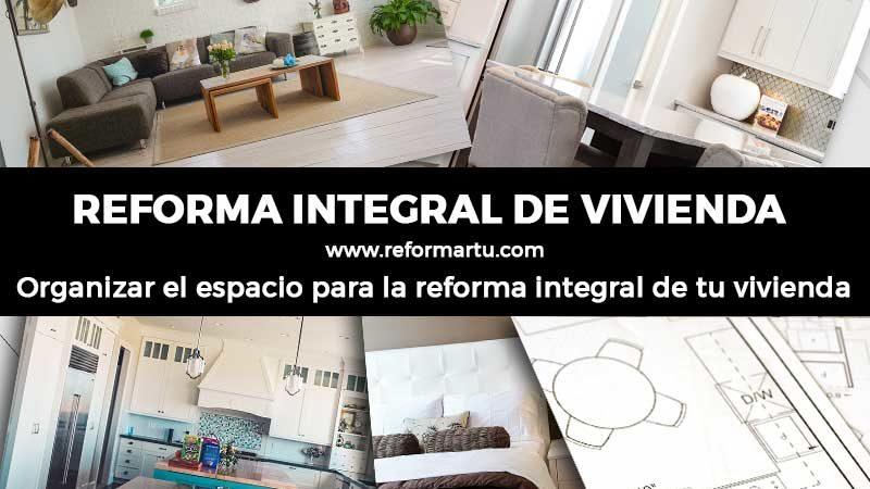 organizar espacio vivienda integral