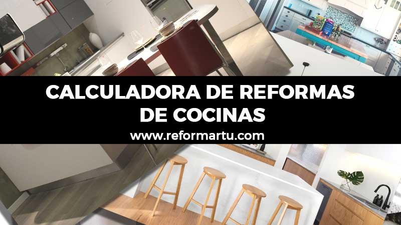Calculadora de reforma de cocinas