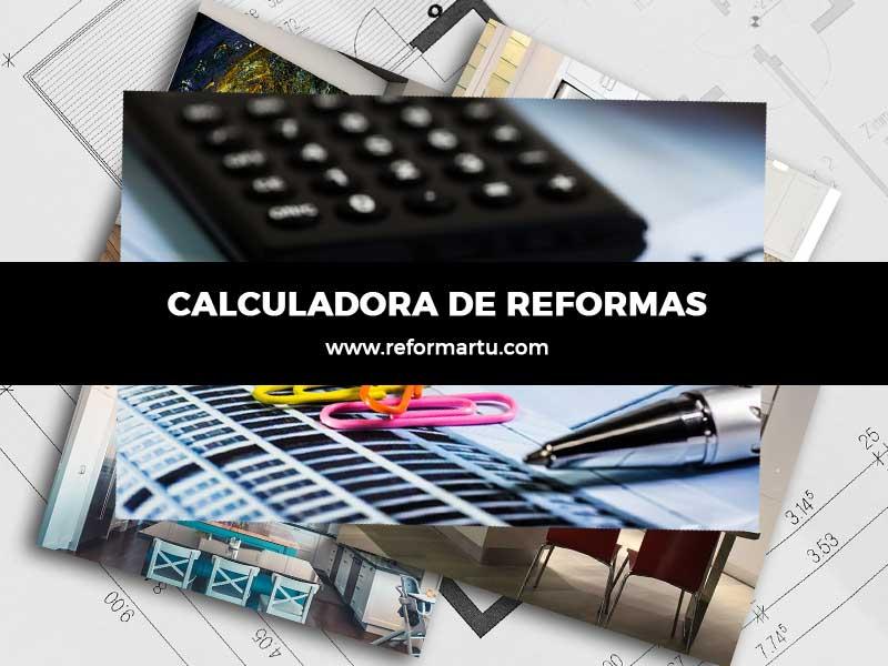 Calculadora de reformas 2019