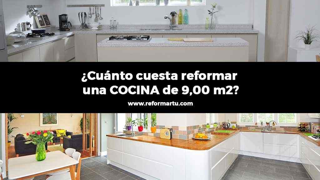 Artículo sobre cuánto cuesta reformar una cocina de 9m2